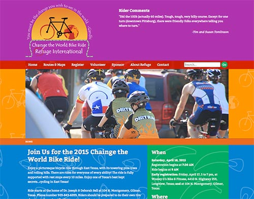 Chainge the World Bike Ride - Refuge International