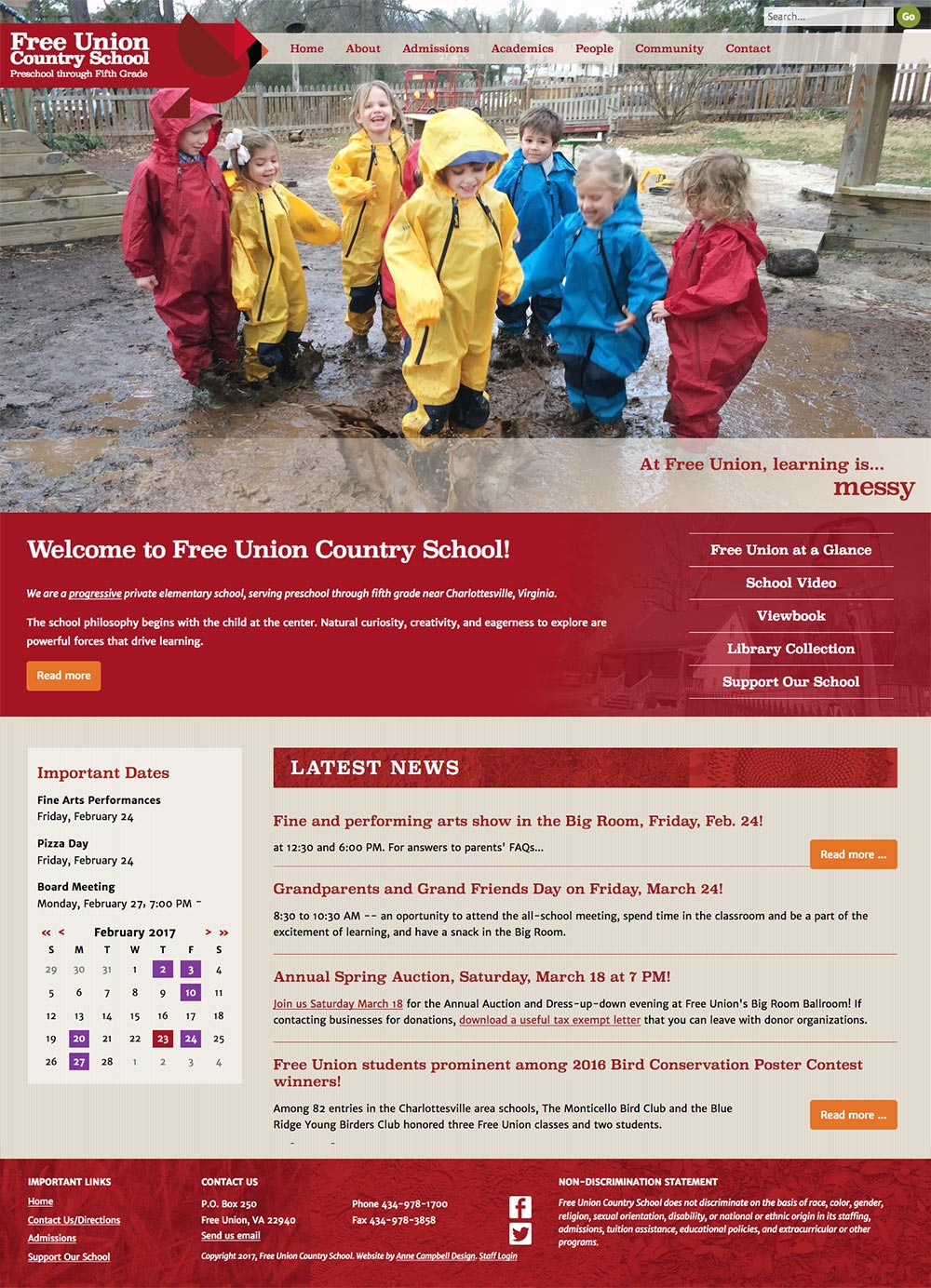 Free Union Country School