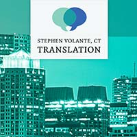 Stephen Volante Translation